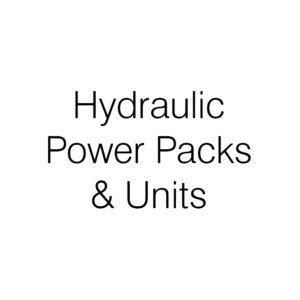 Hydraulic Power Packs & Units