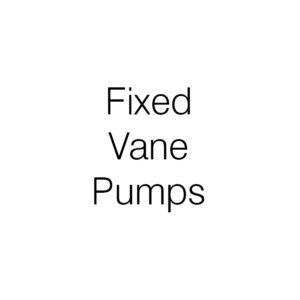Fixed Vane Pumps