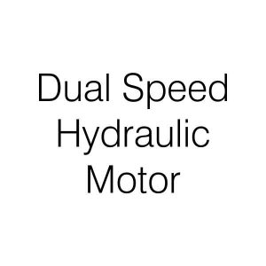 Dual Speed Hydraulic Motor