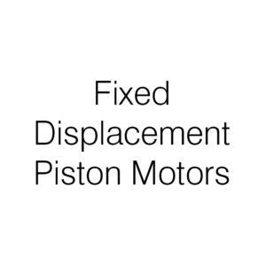 Fixed Displacement Piston Motor